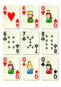 распечатать колоду игральных карт