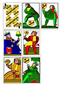 Распечатать раритетные игральные карты