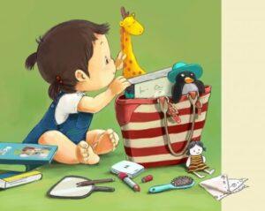 простые игры для развития речи ребенка - волшебная сумка