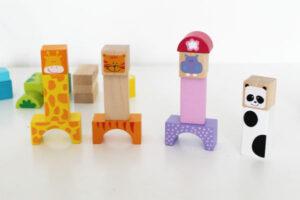 Игры с деревянными кубиками для детей