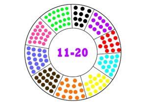 Математические игры с прищепками - распечатать шаблоны