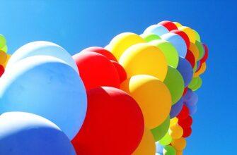 Игры с воздушными шарами для детей: топ-5