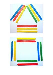 Игры со счетными палочками для детей дошкольного и школьного возраста