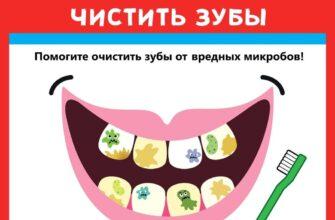 задание для печати как научить ребенка чистить зубы