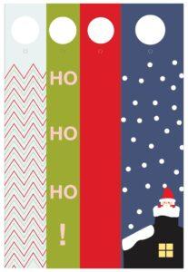 цветные шаблоны для адвент-календаря