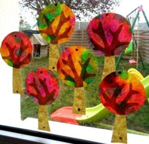 Осенняя поделка для детей Ловец солнца