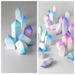 как сделать кристальный адвент-календарь