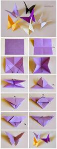 Виды техник оригами из бумаги