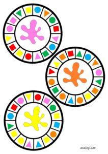 Карточки-игра с прищепками