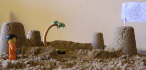 волшебный песок