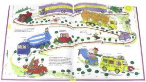 книги про машинки Ричарда Скарри