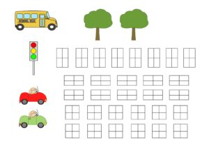 аппликация город для детей