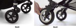 Сравнение колясок Bugaboo Bee6 2020 и Bee5