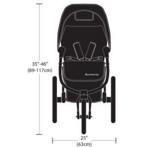 Габариты коляски Bumbleride Speed