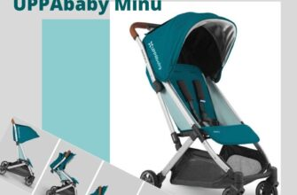 обзор компактной коляски для путешествий от Аппабеби модель Мину