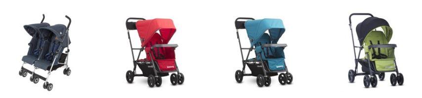 Рейтинг лучших колясок для двойни и погодок