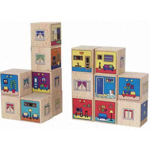 деревянные кубики для ребенка в 1 год