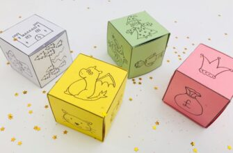Кубики историй распечатать