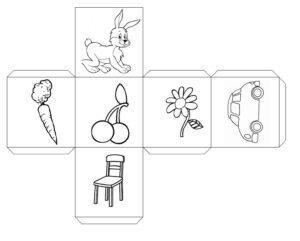 Кубики историй с животными