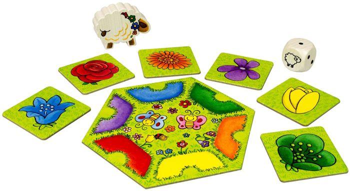 Настольная игра для малышей Кучеряшка