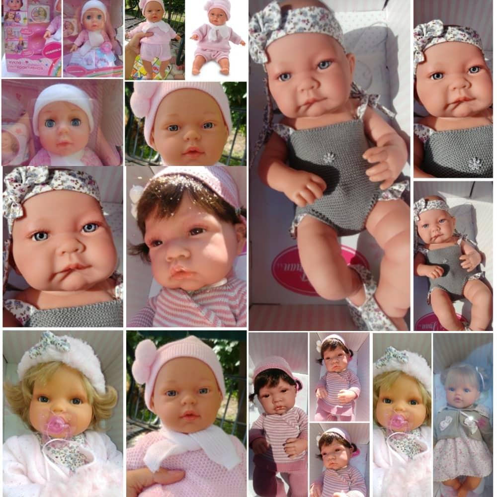 выбор куклы в подарок девочке 3 лет