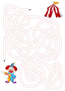 Распечатать лабиринты для детей 6 лет