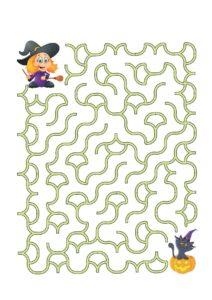 Распечатать логические игры-лабиринты для детей