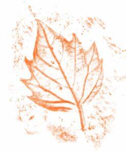 штриховка по листам деревьев