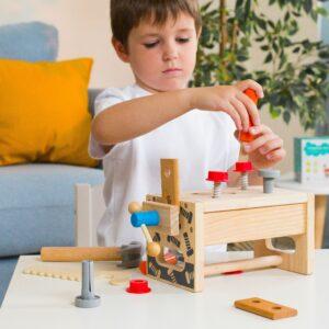 деревянные игрушки для детей 2-3 лет
