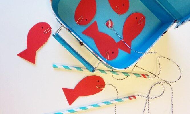 игрушка-поделка Магнитная рыбалка
