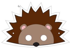 Ежик - маска для детей