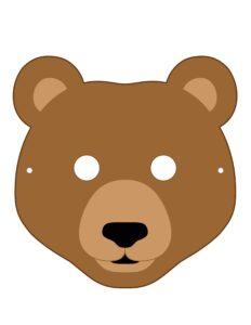 Медведь, медвежонок, мишка - маски для детей