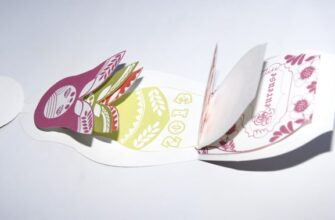 как сделать поделку открытку с пожеланиями Матрешка