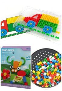 Мозаика лучшая развивающая игрушка для детей 2-3 лет