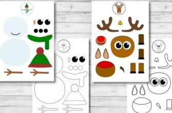 новогодние аппликации для детей из бумаги