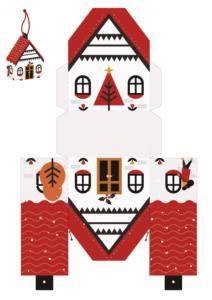 домик для новогоднего квеста
