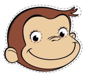 Распечатать маску обезьяны