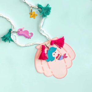 как сделать ожерелье с русалочкой своими руками