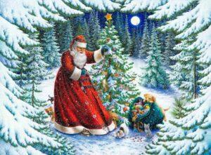 адвент календарь ожидания нового года