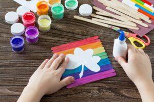 поделки для детей своими руками из палочек от мороженого
