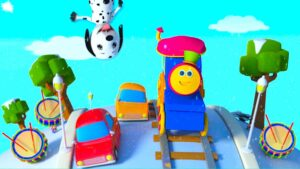 Развивающий мультфильм для детей до года: Паровозик Боб