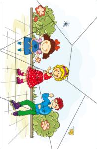 Распечатать и разрезать пазлы для детей