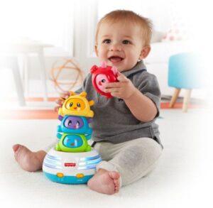 лучшие игрушки для детей 1 года - пирамидки
