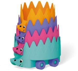 """пирамидка """"Ежики"""" от Стеллар для детей 1 года"""