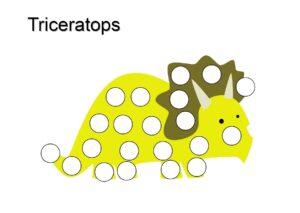 распечатать пластилиновые заплатки - динозавры