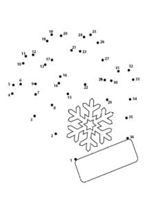 Соедини точки по числам - распечатать задания для детей