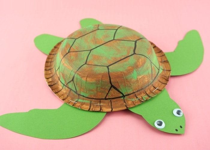 поделка морская черепаха