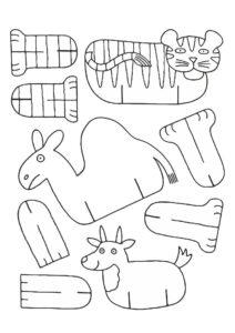 поделки из картона для детей 3 лет