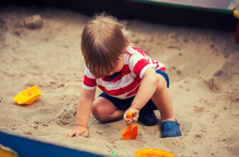польза песочницы для детей