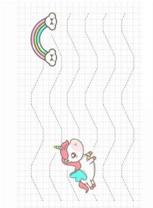 Распечатать прописи для малышей по клеточкам
